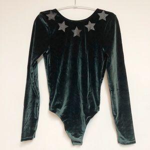 🌸New 🌸Victoria's Secret glitter bodysuit